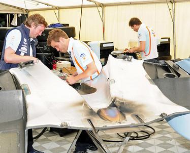 Lola Aston Martin LMP1 garage 06