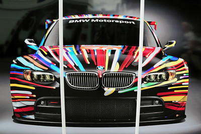 BMW garage M3 GTR Art Car 02