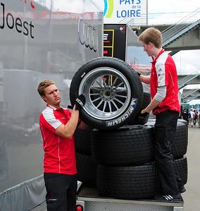 Audi team tires