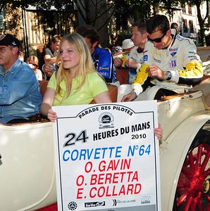 Corvette C6R # 64 drivers