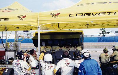 Corvette pits