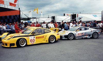 Porsche Ferrari