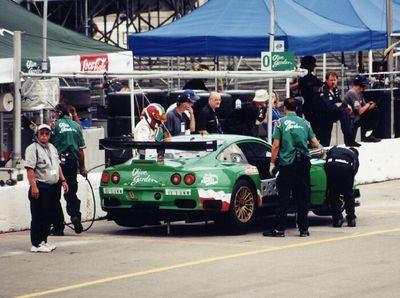 Olive Garden Ferrari 550 GTS
