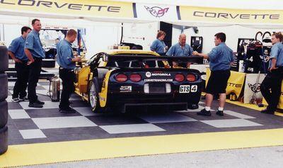 Corvette C5R Paddock