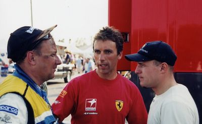 Ferrari 550 driver