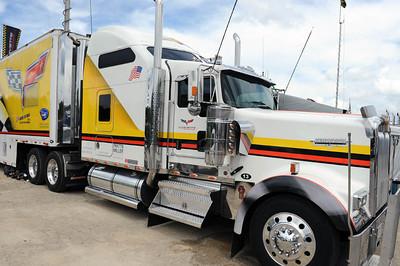 Corvette team truck