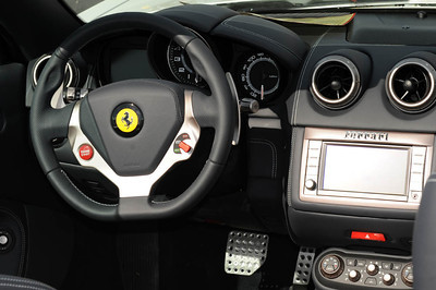 Ferrari California cockpit