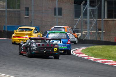 MSVT Team Trophy race