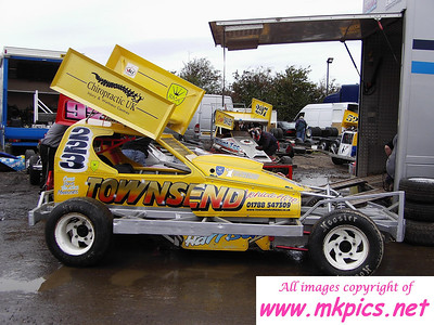 BriSCA F1, Northampton International Raceway, 22 October 2006