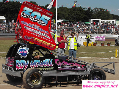 BriSCA F1 at Ipswich Spedeweekend 2 July 2006