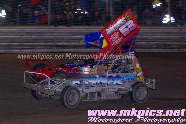 BriSCA F1 Gala Night, Birmingham Wheels, 17 November 2012