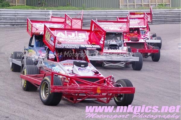BriSCA F1 Stockcars , Birmingham Wheels, 9 June 2012