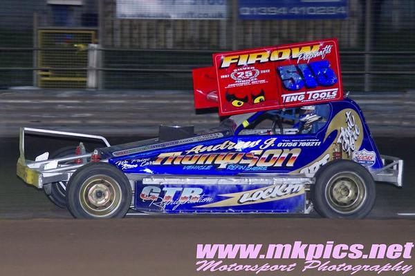 BriSCA F1 Stockcars, World Qualifying round, Ipswich 23 June 2012