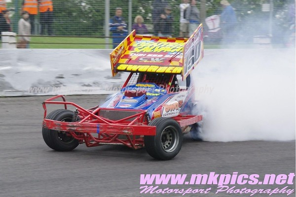 BriSCA F1 Stockcars, Northampton International Raceway, 10 June 2012