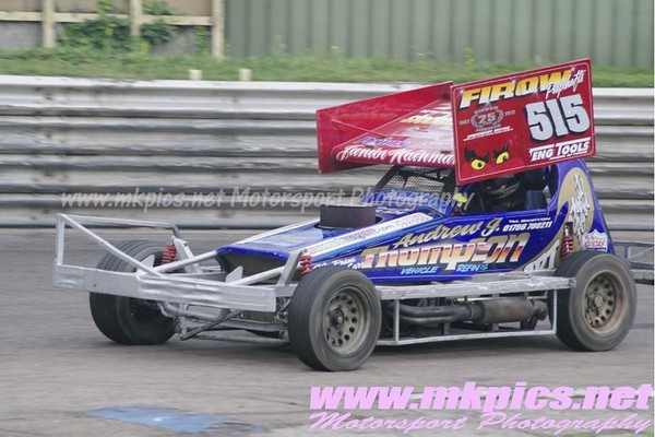 BriSCA F1 Stockcars, Birmingham Wheels Raceway, 25 August 2012