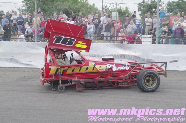 BriSCA F1 European Weekend, Saturday support Races, Northampton 20 July2013