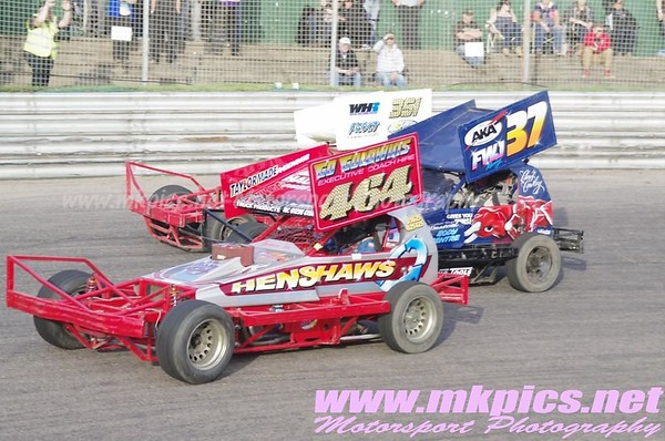 BriSCA F1 Stockcars, Birmingham wheels, 24 August 2013