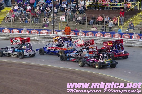 BriSCA F1 2014 World qualifier, Ipswich, 21 June 2014