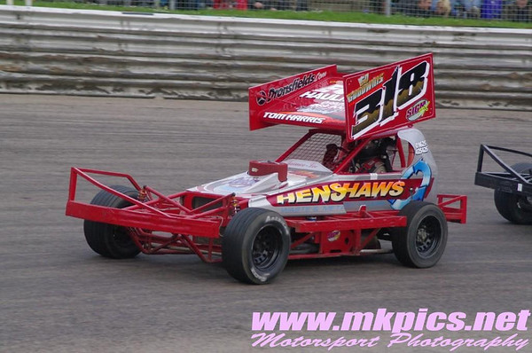 BriSCA F1 Stock Cars, Birmingham Wheels, 12 April 2014