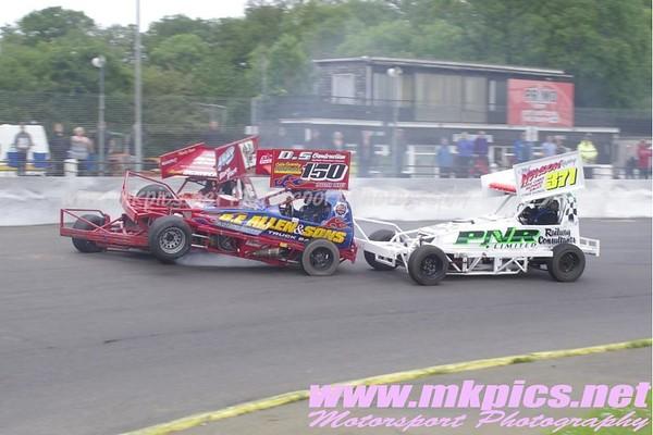 BriSCA F1 Stockcars, Northampton 31 May 2014