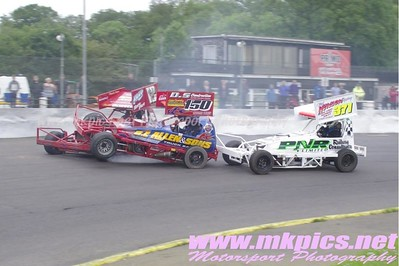 BriSCA F1 Stockcars, Northampton 31 May 2014