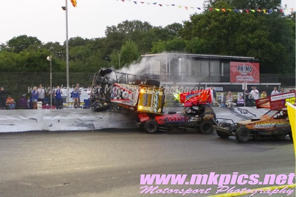 BriSCA F1 Stockcars, Northampton 19 July