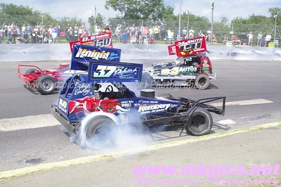 BriSCA F1 World qualifier, Northampton 22 June 2014