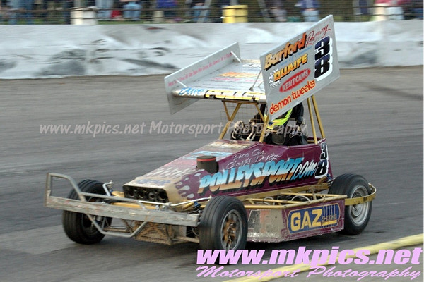 BriSCA F2 Stockcars, Northampton, 10 April 2010
