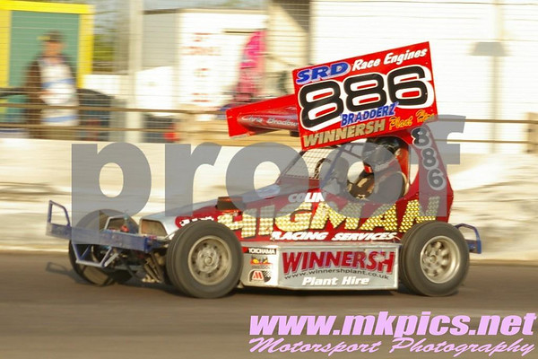 BriSCA F2 Stockcars, Northampton 15 May 2010
