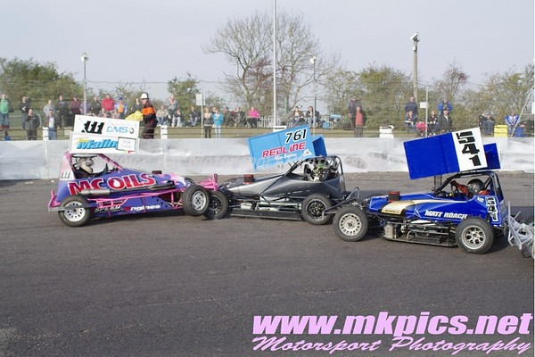 BriSCA F2 Stock Cars, Northampton International Raceway 23 October 2011