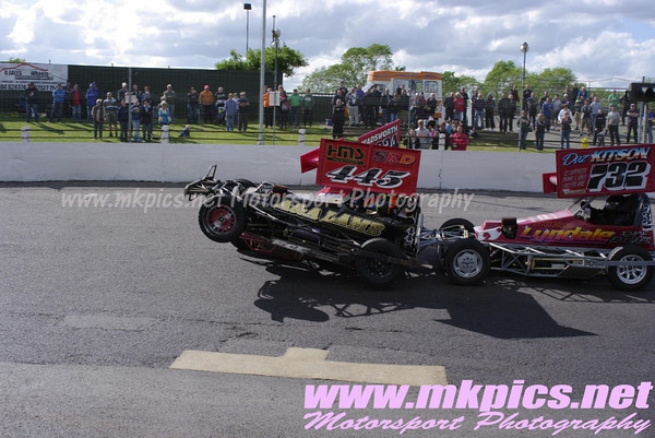 BriSCA F2 World Qualifying Round, NIR, 8 May 2011