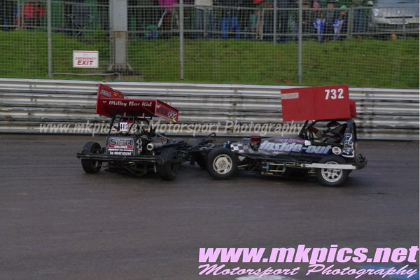 BriSCA F2 Stockcars, Birmingham Wheels, 21 April 2012