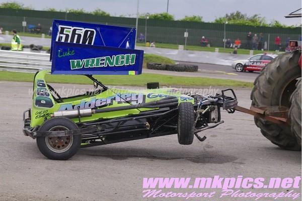 BriSCA F2 Stockcars, Northampton International Raceway, 10 June 2012