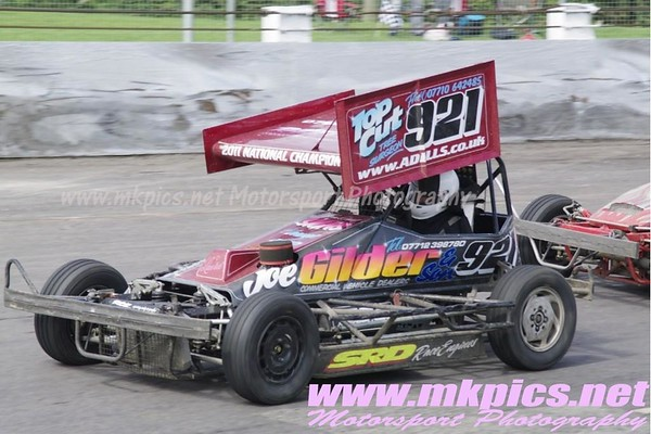 BriSCA F2 Stockcars, Northampton, 28 July 2012