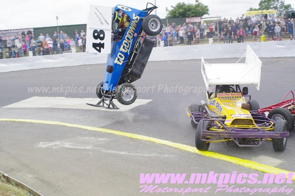 BriSCA F2 European Weekend, Saturday Support races, Northampton 20 July 2013