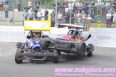 BriSCA F2 Stockcars, Northampton, 22 June 2014