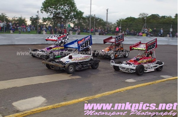 BriSCA F2 Stock cars, Northampton, 29 August