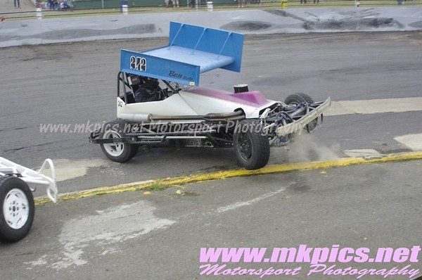 BriSCA F2 Stockcars, Northampton 5 July 2015