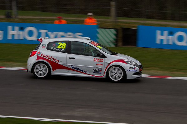 "Renault Clio Cup 3 UK ""Nick Hamilton"" (Renault Clio Cup UK Championship)"
