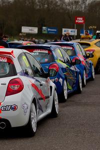 Renault Clio Cup 3 UK Cars  (Renault Clio Cup UK Championship)