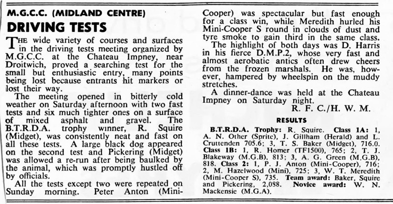 From Autosport, April 10, 1964