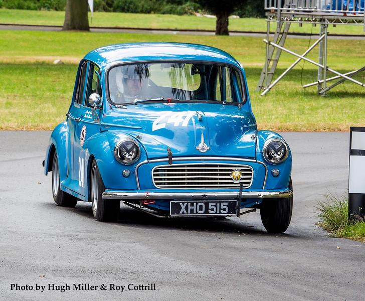 Morris Minor 1000 'Bluebell': Mark Cross