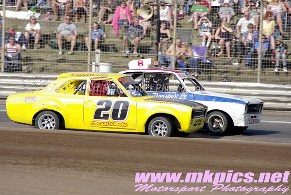 Classic Hot Rods, Foxhall Stadium, Ipswich, 25 April 2011