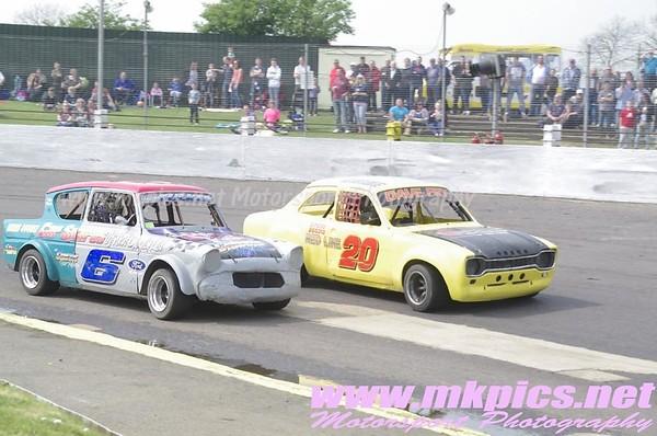 Classic Hot Rods Midland Championship, Northampton, 21 April 2014