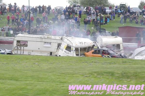 Caravan Racing, Hednesford 4 May 2015