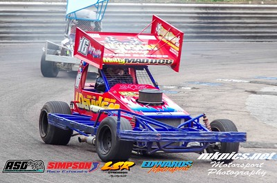 BriSCA F 1 Stockcars World Semi Final 2
