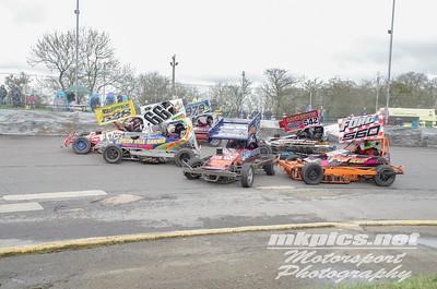 BriSCA F2 Stockcars, Northampton 30 March
