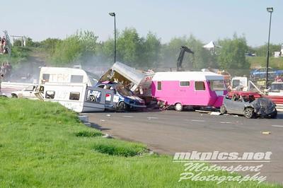 Caravan Racing, Hednesford Hills Raceway, 7th May