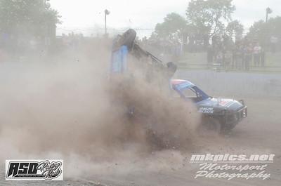 Micra Junior Stockcars, Northampton,  9 June