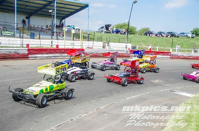 Micro F2 Stockcars, I Factor, Hednesford, 20 May